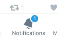 Pic of Twitter notifications
