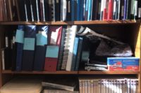 Photo of journal bookshelves